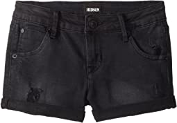 "2 1/2"" Roll Cuff Shorts in Claw Wash (Big Kids)"