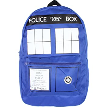 Bioworld Tardis Backpack