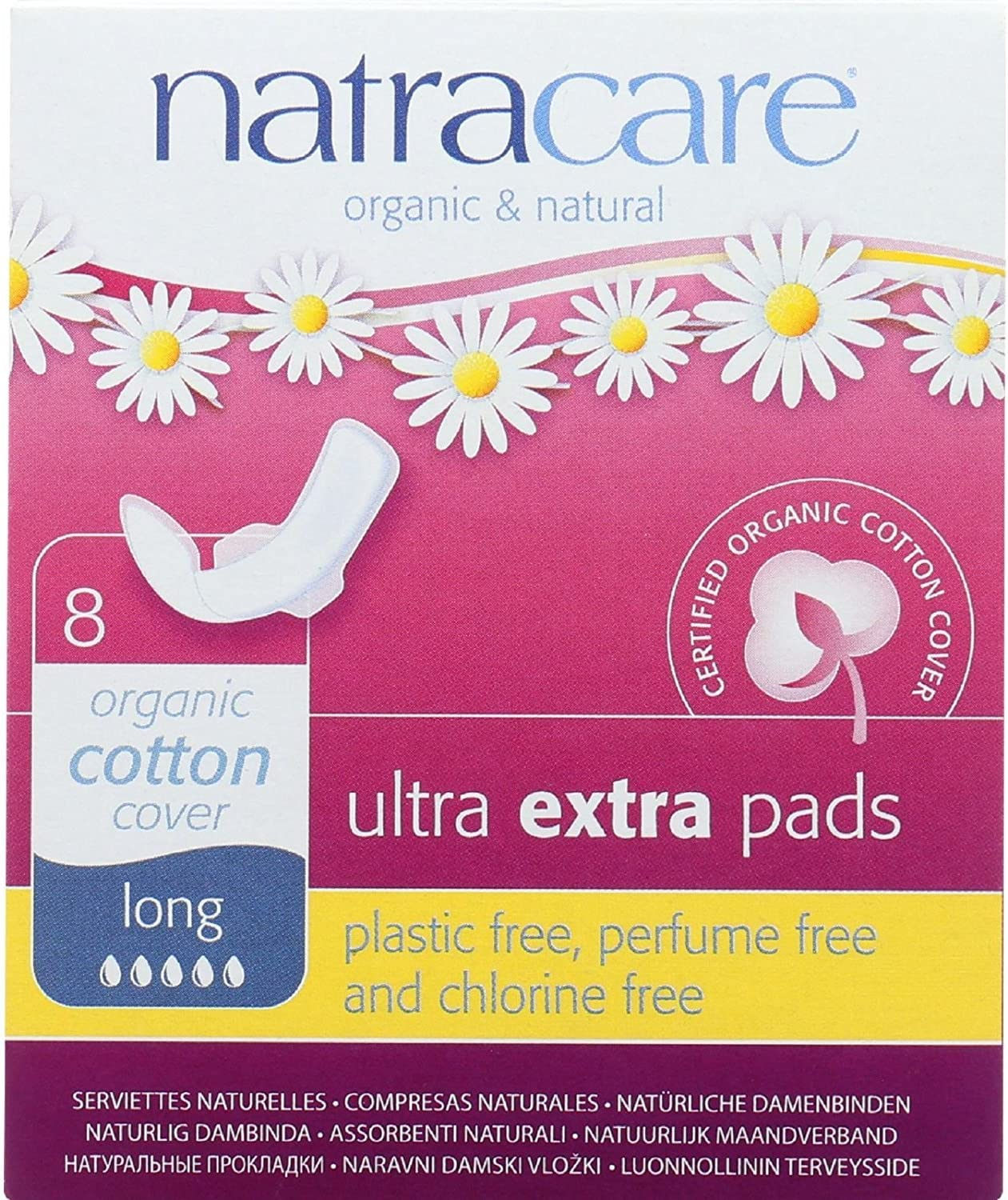 Natracare Ultra Extra Pads w Wings Long Cheap sale Organic - and Max 70% OFF Natural
