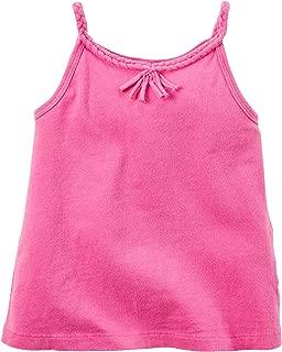 Carters Little Girls Tassel Tank Top 5 Pink