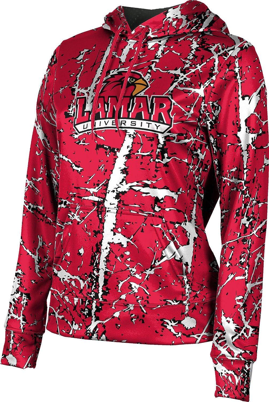 ProSphere Lamar University Girls' Pullover Hoodie, School Spirit Sweatshirt (Distressed)