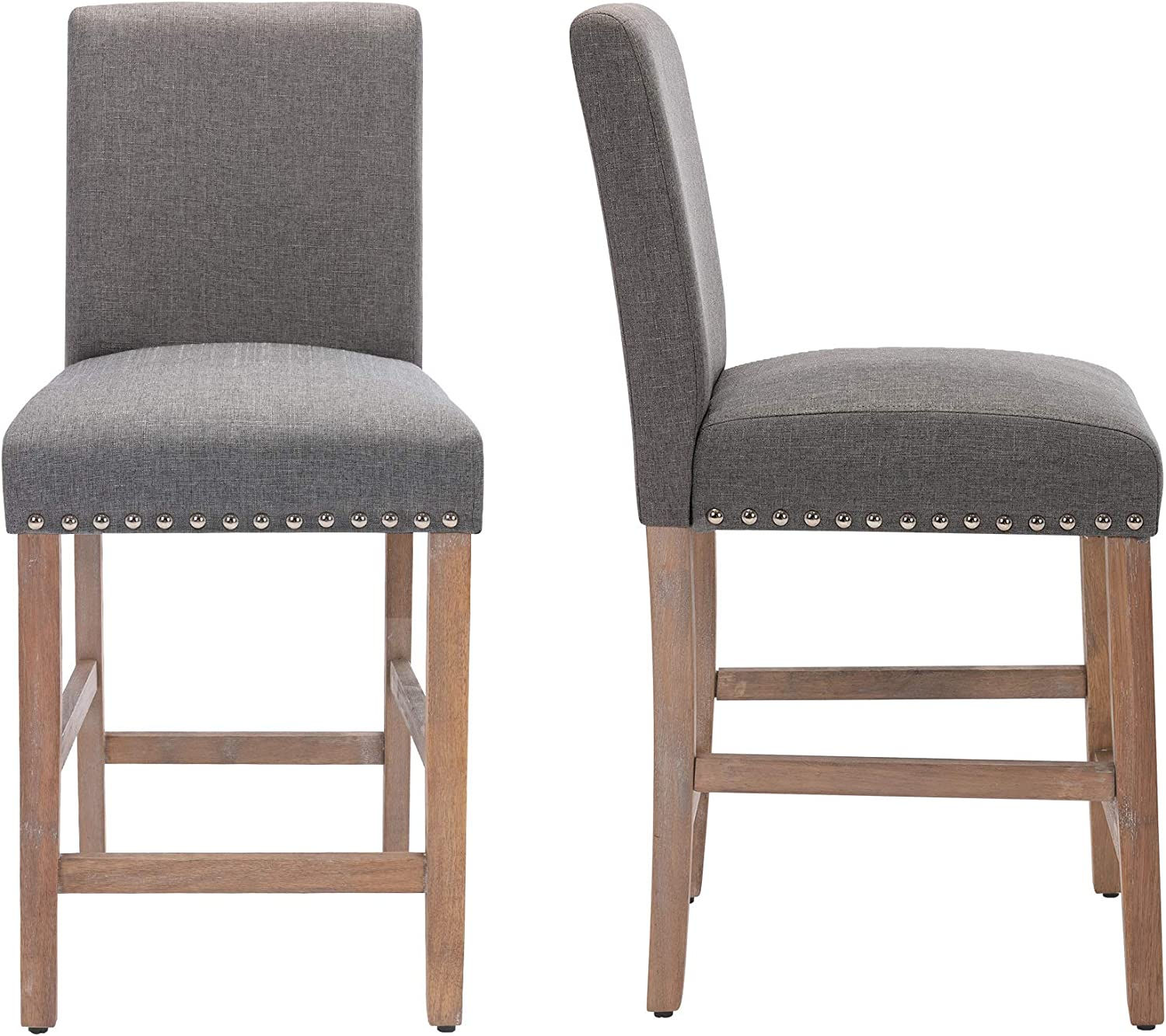 24 Inch New Recommendation York Mall Counter Stools for Dining Solid Bar Legs Wood with Room