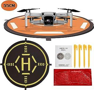 STARTRC Drone Landing Pad Dobladillo Plegable Universal Función para dji Mavic 2 Pro/Zoom/Mavic Air 2/Mavic Pro/Mavic Mini/Spark/FIMI X8SE Drone (55CM)