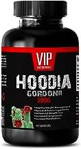 VIP VITAMINS Fat burning body shaper - HOODIA GORDONII EXTRACT 2000mg - Hoodia ultra - 1 Bottle 60 capsules