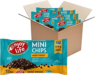Enjoy Life Foods Baking Chocolate Semi-Sweet Mini Chips, Dairy Free Chocolate Chips, Soy Free, Nut Free, Non GMO, Gluten F...