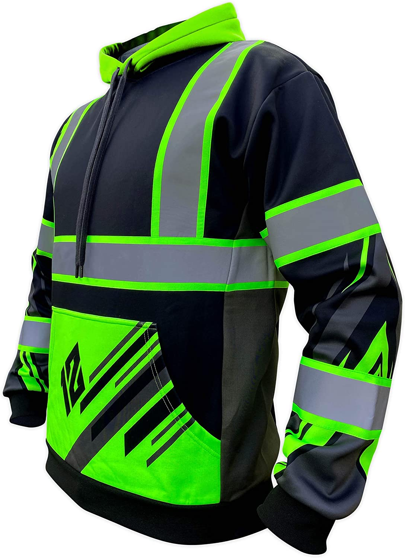 SafetyShirtz Sale price SS360 Stealth Twelve 5 popular Hoody Black Visib - Enhanced