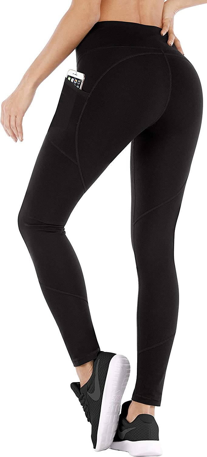 Ewedoos Yoga Pants with Pockets Ultra Soft and Comfy Yoga Leggings with Pockets for Running