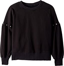 Oversized Crew Neck with Studs (Big Kids)