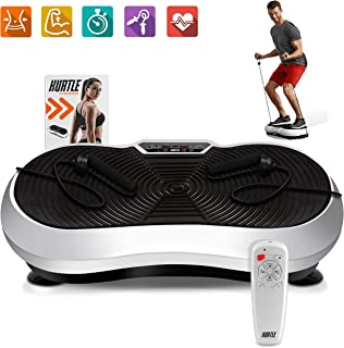 Hurtle Fitness Vibration Platform Workout Machine | Exercise Equipment For Home |..