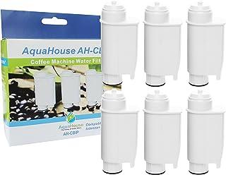 AquaHouse 6X AH-CBIP Compatible pour Philips Saeco CA6702/00 CA6706/48 Cartouche de Filtre à Eau pour Lavazza, Gaggia Mach...