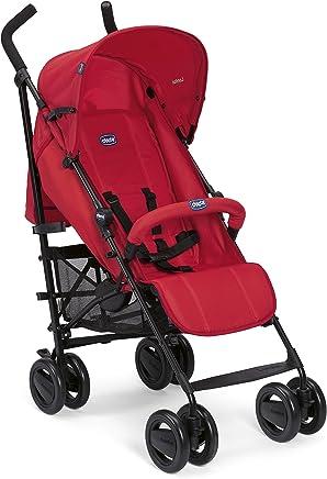 Chicco London - Silla de paseo, 7.2 kg, compacta y manejable, color rojo