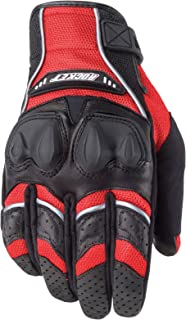 Joe Rocket Men's Phoenix 4.0 Motorcycle Riding Gloves (Red/Black/Silver,  Medium)