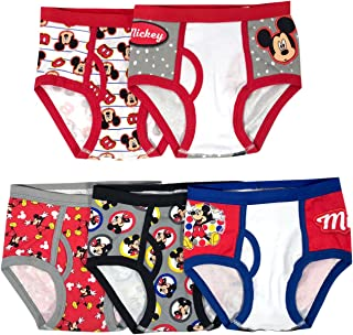 Boys' 5-Pack Mickey Mouse Brief Underwear