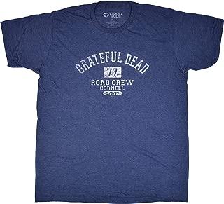 Liquid Blue Grateful Dead Road Crew 1977 Cornell Short Sleeve T-Shirt