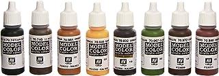 Vallejo val899Peinture Model Color Waffen SS Camouflage Peinture acrylique–Couleurs assorties (Lot de 8)