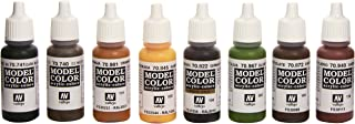 Vallejo 70180 Model Colour Waffen-SS Camouflage Acrylic Paint Set