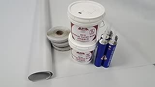 Class A Customs Superflex RV Rubber Roof Kit 9.5' X 35' Complete Kit