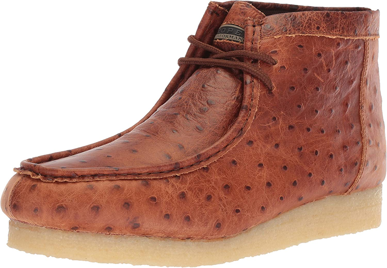 Roper Men's Gum Sticker Ostrich Hiking shoes