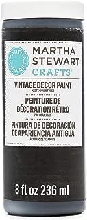 Martha Stewart Crafts 33520 Martha Stewart Vintage Decor Matte Chalk Beetle Black, 8 oz Paint