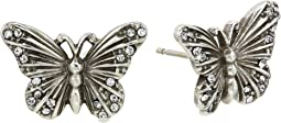 Solstice Butterfly Post Earrings