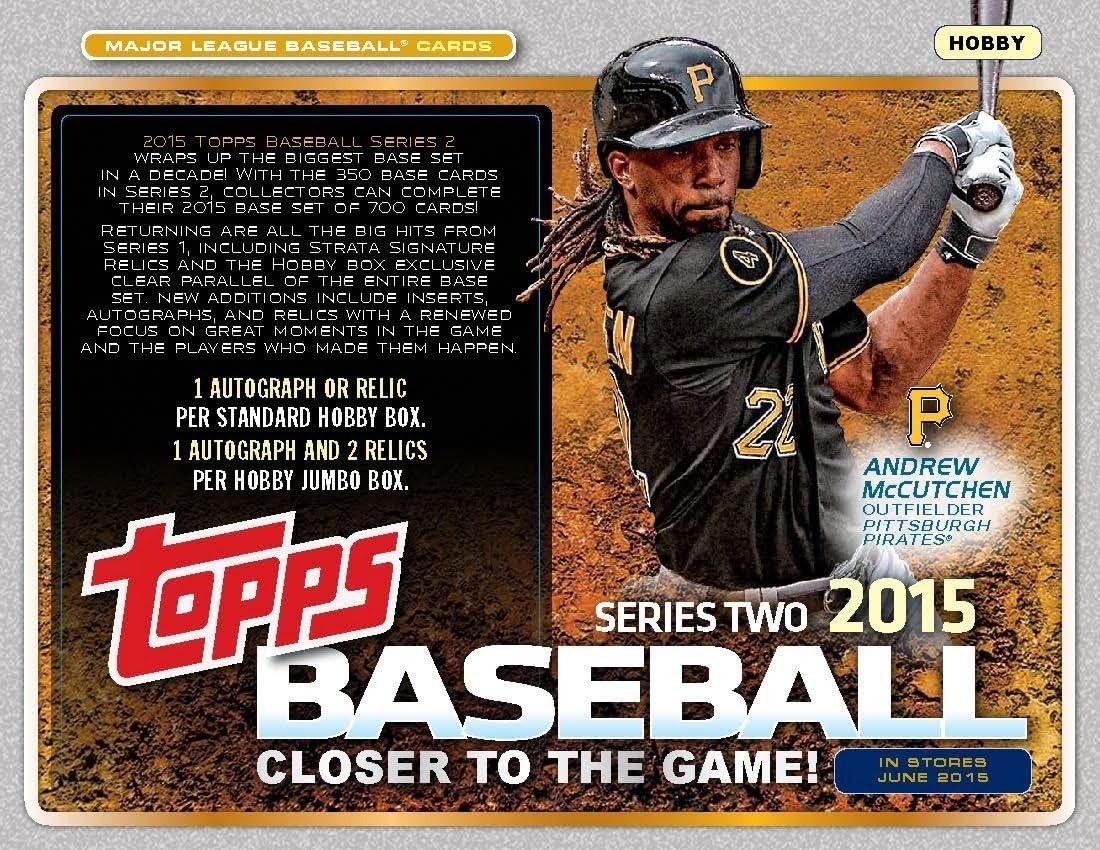 2015 Topps Series depot 2 Baseball Max 56% OFF Card 350 Base Set Complete