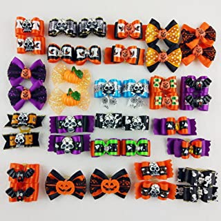 Best dog halloween bows Reviews