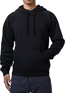 FORBIDEFENSE Men's Pullover Fleece Hoodie Long Sleeve Hooded Sweatshirt