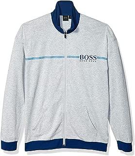 Hugo Boss Men's Authentic Regular Fit Zip Neck Lounge Jacket