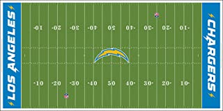 غطاء لوس أنجلوس تشارجرز NFL الميداني 32x16 بوصة متوسط للموديل 9082
