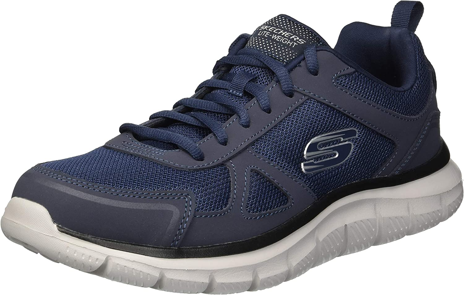 Skechers Men's Track-scloric 52631-bbk Low-Top Sneakers