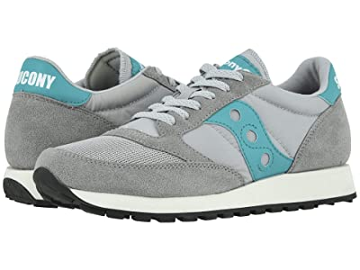 Saucony Originals Jazz Original Vintage (Grey/Teal) Men