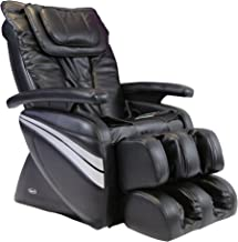Osaki OS1000A Model OS-1000 Deluxe Massage Chair, Black, 5 Easy to Use Preset Auto Program, 4 Massage Types, Intelligent 4 Roller System, Reclines to 170 Degrees, Adjustable air Massage