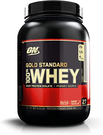 Gold Standard 100% Whey Cookies & Cream 907g - Optimum Nutrition, 907g - Optimum Nutrition