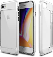 iPhone 8 Case, Patchworks [Contour Series] Hybrid Smudge-Free Clear Inner TPU Hard Matte Finish PC Frame Cover Military Gr...