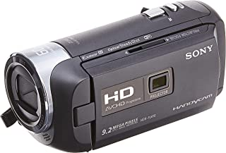 سوني كاميرا الفيديو فلاش ميموري, 1080P وضوح, 30x زووم بصري, 2.7 انش بوصة الشاشة, اسود - HDR-PJ410