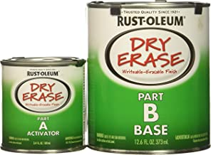 Rust-Oleum Dry Erase Kit 241140-2 PK Brush, White