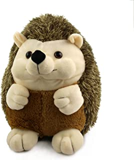 Houwsbaby Hedgehog Plush Stuffed Animal Wildlife Toys Gift for Kids Christmas,10inch