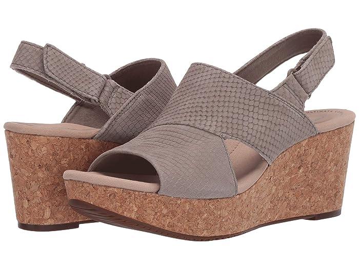 Clarks  Annadel Sky (Sage Interest Nubuck) Womens Shoes