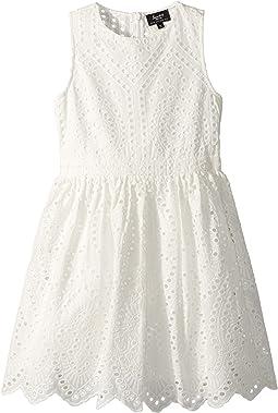 Bardot Junior Henley Broderie Dress (Big Kids)