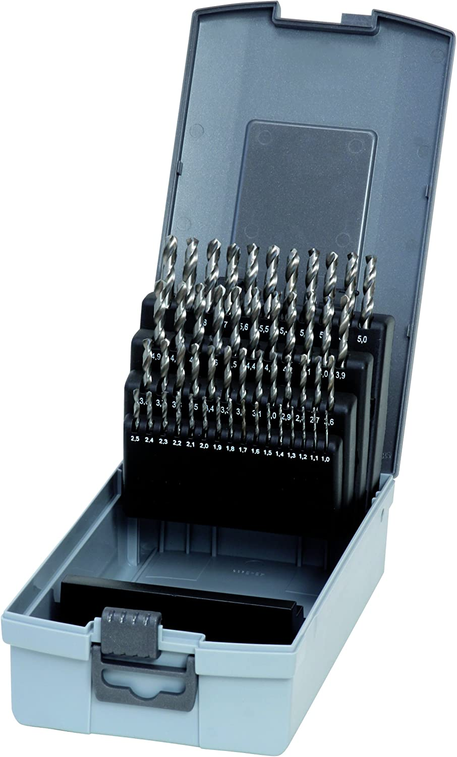 Gertus 1914110 Rose Box with 51 Twist 338 HSS- Bits Drill Max 68% OFF in DIN Luxury