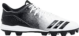 adidas Icon 4 Md White/Black Baseball Shoes (G26695)