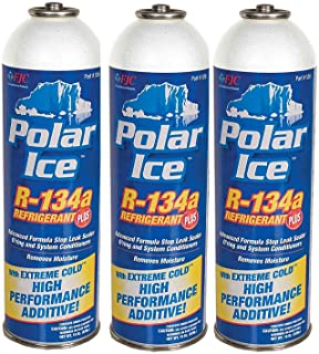FJC 19 oz Can R134a with Extreme Cold High Performance Synthetic Booster (Pack of 3)