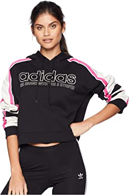 Racing AA-43 Cropped Hooded Sweatshirt