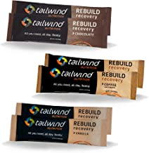 Tailwind Nutrition Rebuild Recovery Drink Mix Powder 3 Choc 3 Vanilla Set Vegan with Complete Protein Estimated Price : £ 17,00