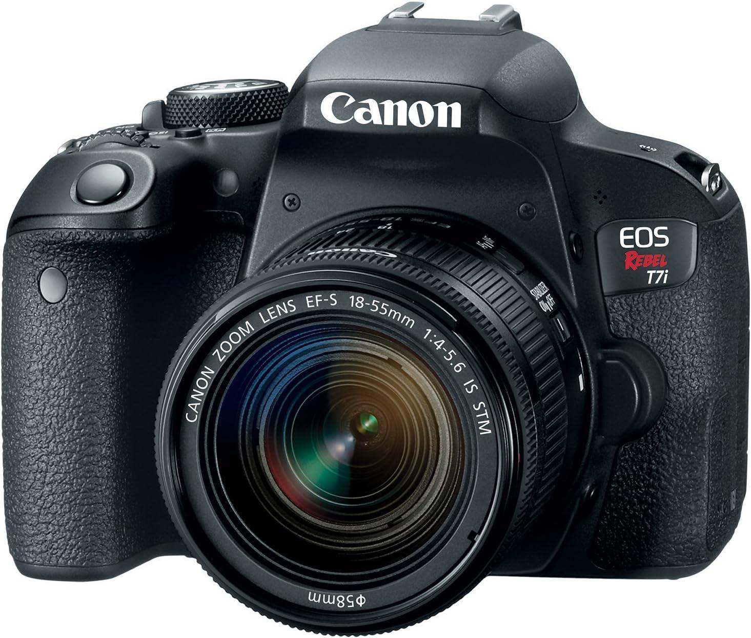 Canon EOS Rebel T7i EF-S 18-55 STM Renewed Soldering is Kit Max 40% OFF
