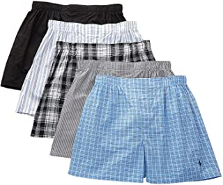 Polo Ralph Lauren 5-Pack Classic Fit Woven Boxers