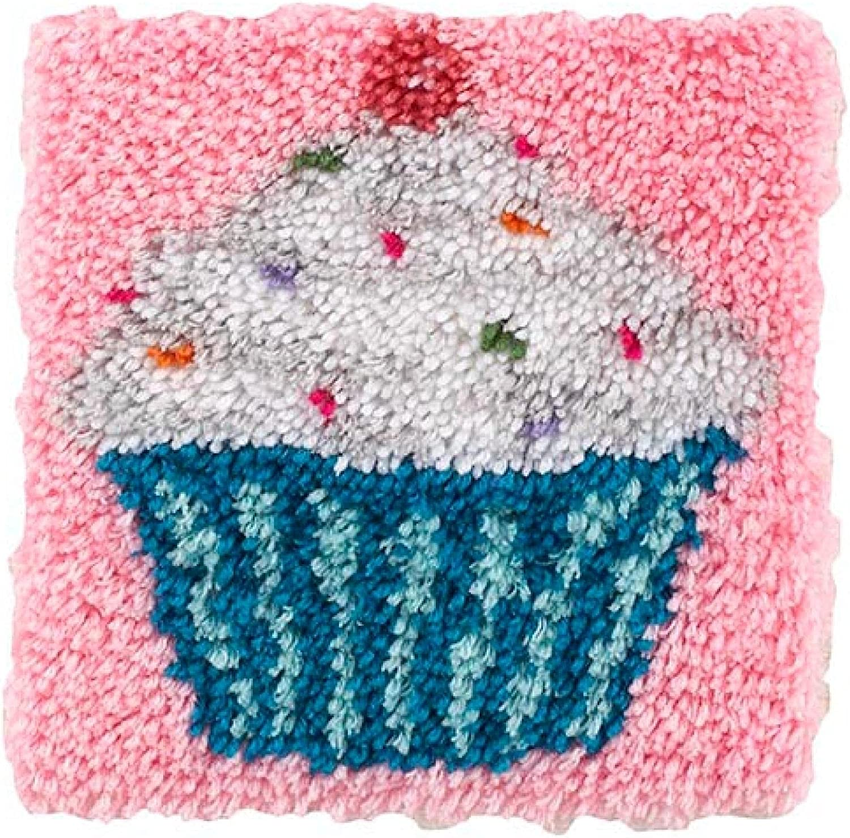 shopping DIY Latch Hook Kits Popularity Throw Pillow Cover Needlework Rug Crochet Cr