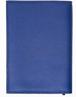 ブックカバー A6判 文庫本、ライトノベル、コミック 文庫本カバー152*105*30mmまで適応 栞付き、カード/栞収納口付き 紺色 擬革製品 ノットカバー/手帳カバーとしても良い
