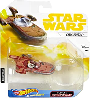 Hot Wheels Star Wars Luke Skywalker's Landspeeder Vehicle