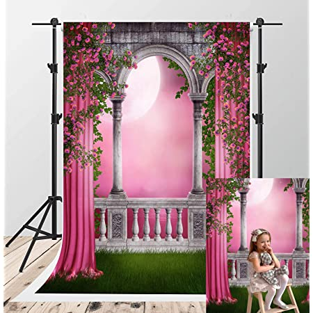 Pink Room Flowers Photography Backdrops Photo Props Studio Background 5x7ft